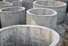De concrete kuilen. Stock Foto