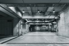 De concrete Ruimtezaal van de de Bouwfabriek stock foto's