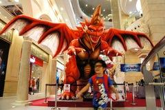 De concurrentie van de Geesten van de slag, Thailand Stock Foto's