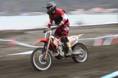 Mx Moto van Trofeo Sport Ligurië Stock Afbeeldingen