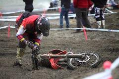 Mx Moto van Trofeo Sport Ligurië Stock Foto