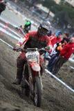 Mx Moto van Trofeo Sport Ligurië Stock Foto's