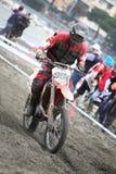 Mx Moto van Trofeo Sport Ligurië Stock Fotografie