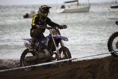 Mx Moto van Trofeo Sport Ligurië Royalty-vrije Stock Foto's