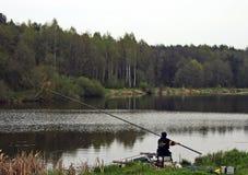 De concurrentie van vissers Royalty-vrije Stock Foto