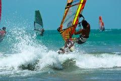 De concurrentie van Windsurf Royalty-vrije Stock Afbeelding