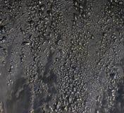De Condensatie van waterdruppeltjes stock foto's