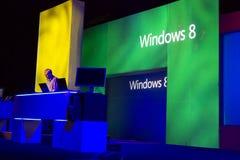 De Conferentie 2012 van Microsoft TechEd Stock Foto's