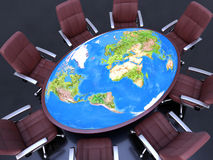 De Conferentie van de wereld Stock Foto's