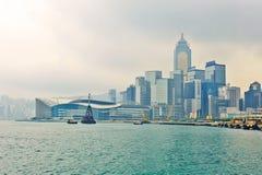 De conferentie van Hongkong en tentoonstellingscentrum Stock Afbeeldingen