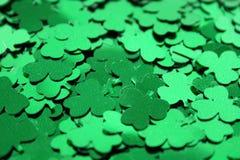De Confettien van de klaver Royalty-vrije Stock Fotografie