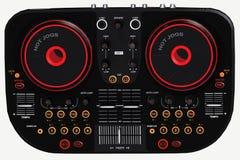 De console van DJ Royalty-vrije Stock Foto's