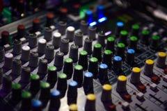 De console van DJ Stock Foto's