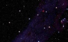 De constellatie van Monoceros Stock Foto's