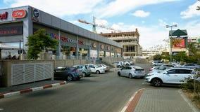 A de construção é parte do shopping de G um Fotos de Stock Royalty Free