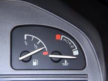 De consumptie van de benzine Stock Foto's