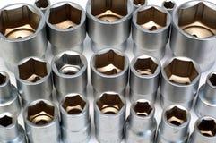 De contactdozen van de flank stock fotografie