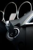 De contactsleutel van de auto Stock Afbeeldingen