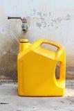 De container van de kraan en van de olie Royalty-vrije Stock Foto's