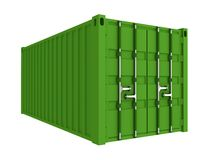 De container van de lading vector illustratie