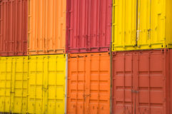 De container van de lading Royalty-vrije Stock Foto