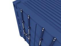 De container van de lading stock illustratie
