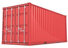 De Container van de lading. Stock Foto