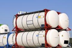 De container van de lading voor levensmiddel Royalty-vrije Stock Fotografie