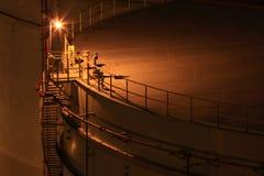 De container van de olie Stock Afbeelding