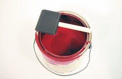 De container van de verf Stock Foto