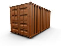 De container van de vracht Stock Fotografie