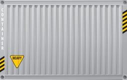 De container van de vracht Royalty-vrije Stock Foto's