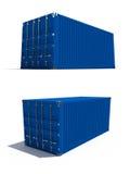 De container van de vracht royalty-vrije illustratie