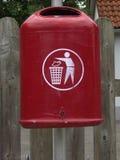 De container van het afval Royalty-vrije Stock Afbeeldingen