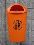 De container van het afval Stock Afbeelding