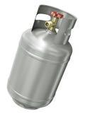 De container van het gas Stock Afbeeldingen