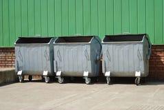 De container van het huisvuil Royalty-vrije Stock Foto