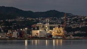 De containerhaven van Wellington