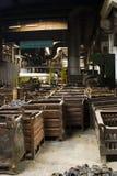 De Containers van het metaal Royalty-vrije Stock Afbeeldingen