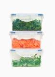 De containers van het voedsel Royalty-vrije Stock Afbeeldingen