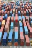 De containers van de lading Stock Foto