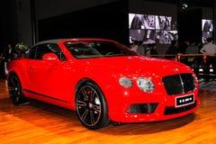 De Continentale V8 Convertibele sportwagen GTC van Bentley Royalty-vrije Stock Afbeelding