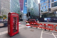 De contrasten van Centraal Londen Het Verenigd Koninkrijk Royalty-vrije Stock Afbeeldingen