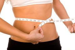 De Controle van het gewicht Stock Afbeeldingen