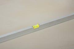 De controle van het het substraatniveau van het cement Stock Afbeelding