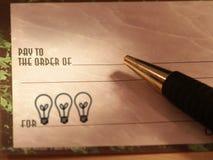 De Controle van het idee Stock Fotografie