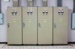 De Controlekabinetten - Alle industrieel en fabrikanten Royalty-vrije Stock Afbeelding