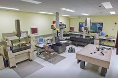 De controlekamer van de kwaliteit Royalty-vrije Stock Foto