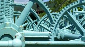 De Controles van de dam Stock Fotografie