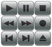 De controles van de speler stock illustratie